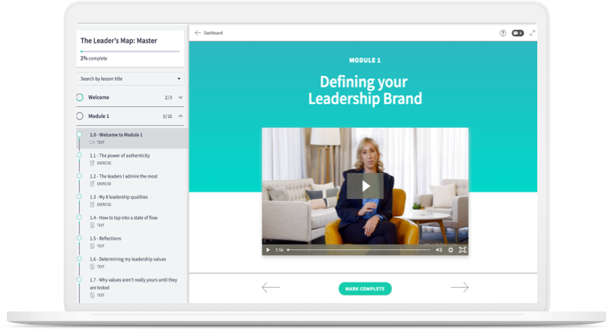 The Leader's Map Course Website